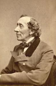 Dette foto af Andersen blev taget i oktober 1867 af Thora Hallager