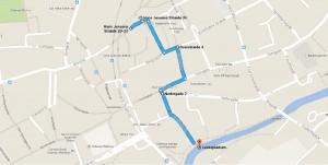 Del 1 - En rute der fører i H.C.Andersens fodspor rundt i Odense C...