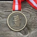 HCA Maraton i Odense - MEDALJE fra løbet i 2013 - Hans Christian Andersen i profil.