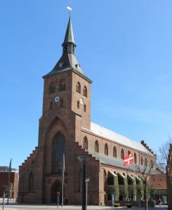Domkirken ved Flakhaven.