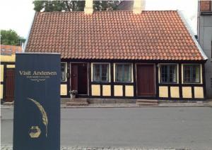 Det lille museum, som åbnede i 1930.