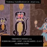 TINDERBOX - H.C. Andersen illustration af Mayken González Backlund